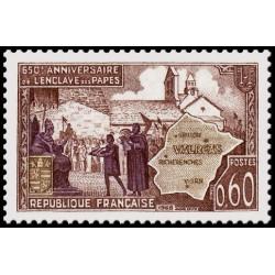 Timbre de France N° 1562...