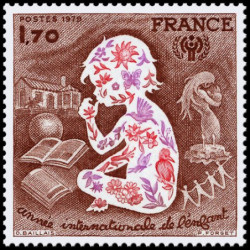 Timbre de France N° 2028...