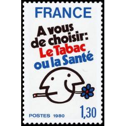 Timbre de France N° 2080...