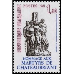 Timbre de France N° 2177...