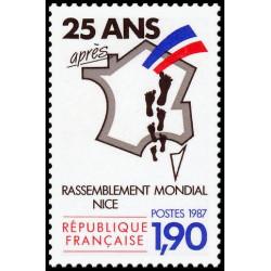 Timbre de France N° 2481...