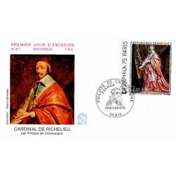 FDC n° 871 - Richelieu -...