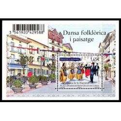 Feuillet Andorre Français...