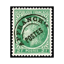 Timbre de France Préo N° 92...