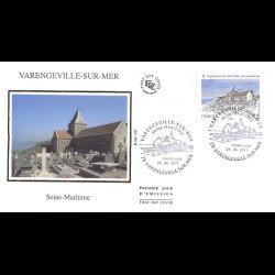 FDC soie - Varengeville sur...