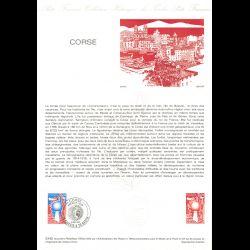 Document Officiel 1982 - Corse