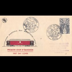 FDC - Wagon postal -...