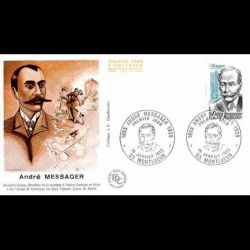 FDC JF - André Messager,...