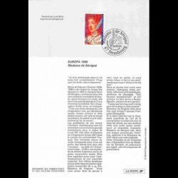 1996 Notice Philatélique -...