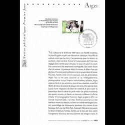 1999 Notice Philatélique -...