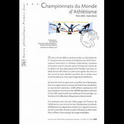 2003 Notice Philatélique -...