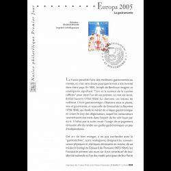 2005 Notice Philatélique -...