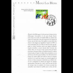 2006 Notice Philatélique -...