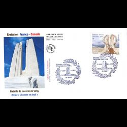 FDC JF - France Canada (2...