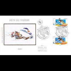 FDC soie - Fête du timbre...