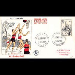 FDC - Les sports, basket...