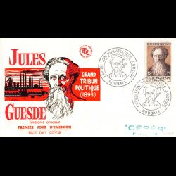 FDC - Jules Guesde, homme...