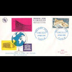 FDC - Inauguration Palais...