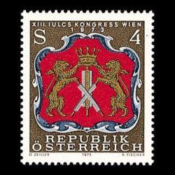 Timbre d'Autriche n° 1251...