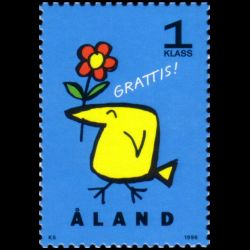 Timbre d'Aland n° 107 Neuf...