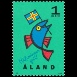 Timbre d'Aland n° 108 Neuf...