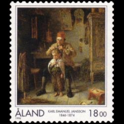 Timbre d'Aland n° 115 Neuf...
