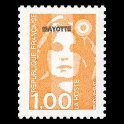 Timbre de Mayotte n° 35...