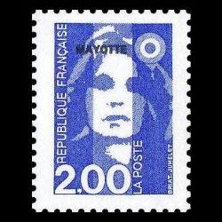 Timbre de Mayotte n° 36...