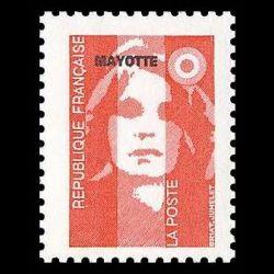Timbre de Mayotte n° 38...