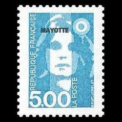 Timbre de Mayotte n° 40...