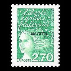 Timbre de Mayotte n° 48...