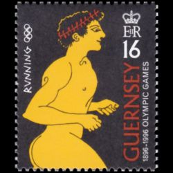 Timbre de Guernesey n° 713...