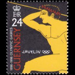 Timbre de Guernesey n° 714...