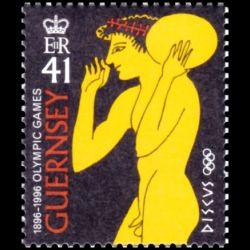 Timbre de Guernesey n° 715...