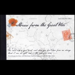 Carnet de Guernesey n° CA...