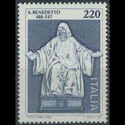 Timbre d'Italie N° 1416...