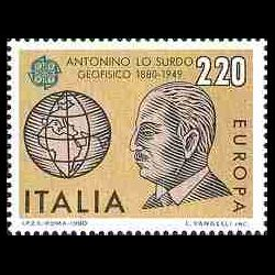 Timbre d'Italie N° 1419...