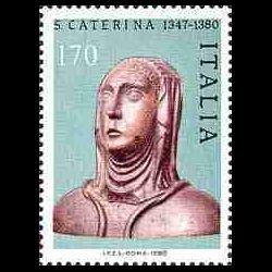 Timbre d'Italie N° 1420...