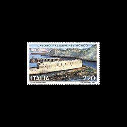 Timbre d'Italie N° 1422...