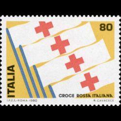 Timbre d'Italie N° 1424...