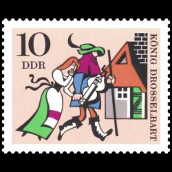 Timbre Allemagne orientale...