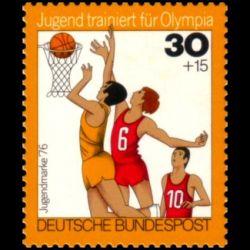 Timbre Allemagne fédérale...