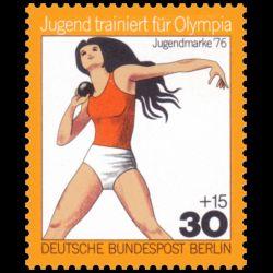 Timbre d'Allemagne Berlin...