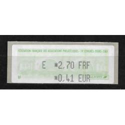 LISA 0,41 € - FFAP - 74e...