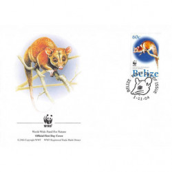 FDC WWF - Belize (Yt 1178)...