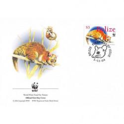 FDC WWF - Belize (Yt 1180)...