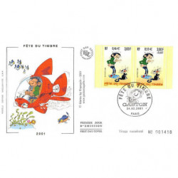 FDC soie - Fête du timbre -...