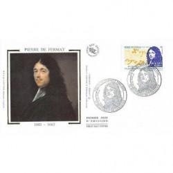 FDC soie - Pierre de Fermat...