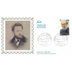 CEF soie - Emile Zola,...